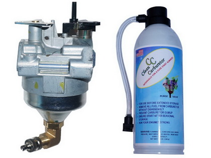 Genuine Carburetor 16100-Z0L-853 with Purge Valve + Pressurized Gas Can for Honda Lawn Mower