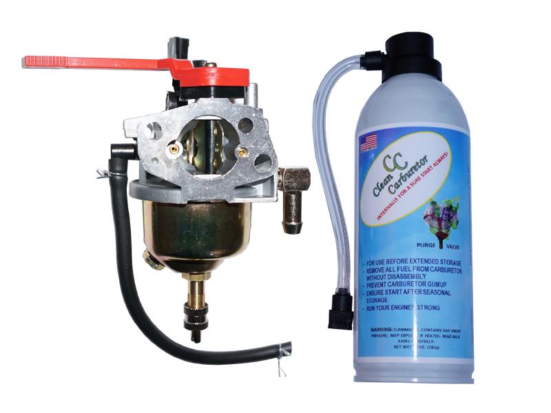 Carburetor with Purge Valve + Pressurized Gas Can MTD CLUB CADET & TROY BILT 751-10956A 951-10956A / SCA04