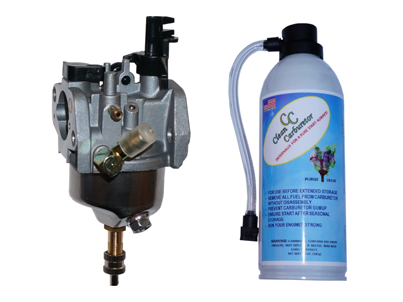 Carburetor with Purge Valve + Pressurized Gas Can for Toro Snowblower Power Clear 621 721 Snowblower