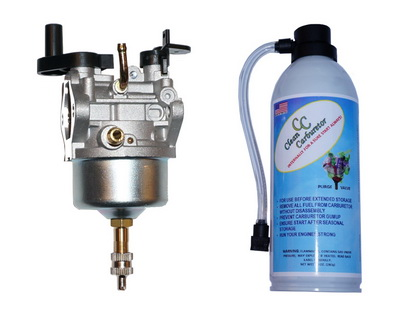 Carburetor with Purge Valve + Pressurized Gas Can for Toro Power Clear Snowblower R-TEK 2 cycle engines