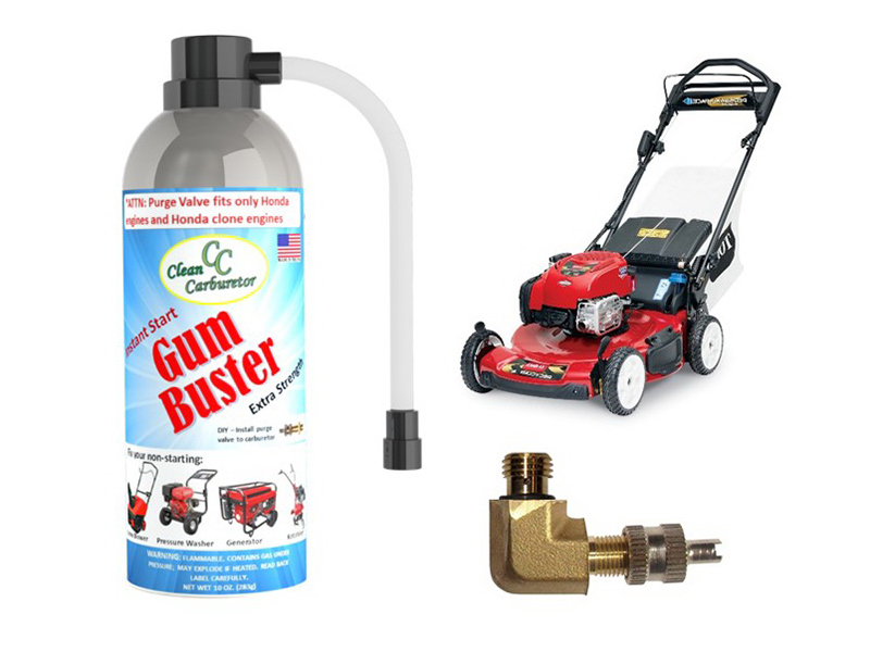 GumBuster Kit for Toro Lawn Mowers with Briggs & Stratton Engines