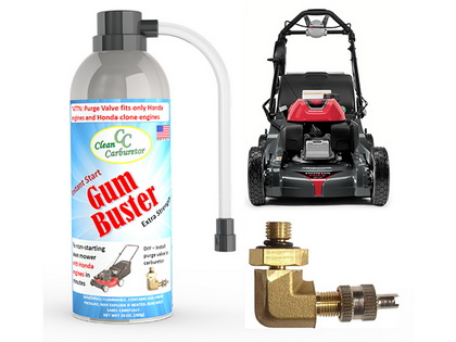 GumBuster Kit for Lawn Mowers and Pressure Washers with Honda and Honda Clone Engines