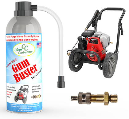 GumBuster Kit for All Pressure Washers with Honda and Honda Clone Engines